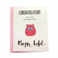 New Owl (Greeting Card)