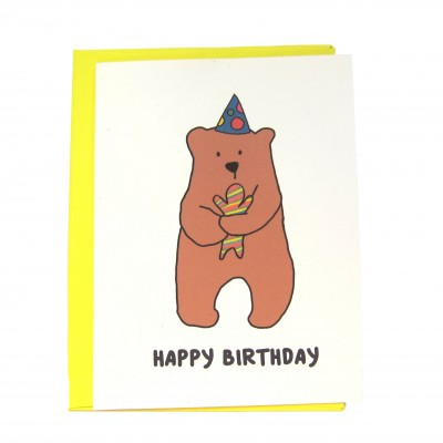 Birthday Bear Candy