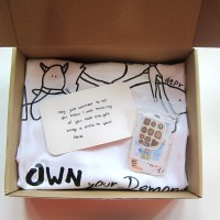 T Shirt and Sticker Gift Set (Care Pack)