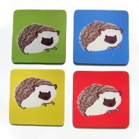 Spike Your Drinks (Hedgehog Coasters) (Set of 4)