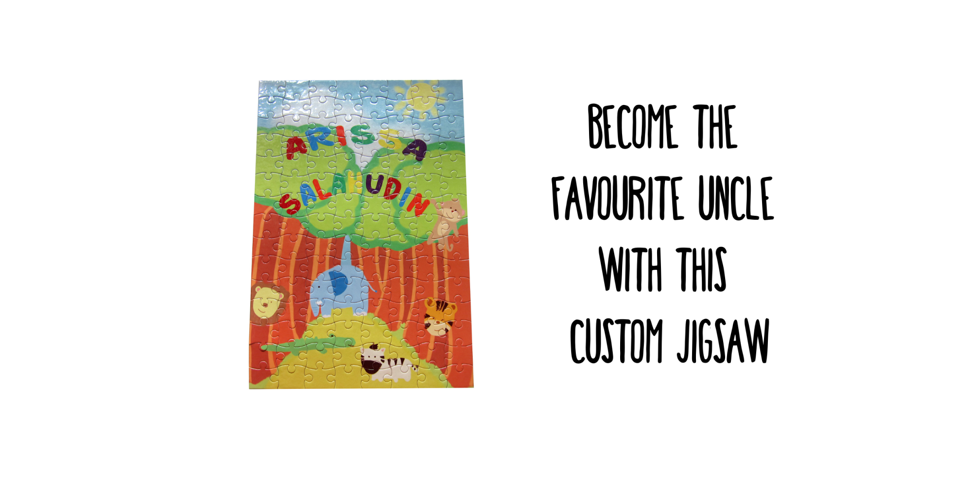 Customizable Jigsaw Puzzle
