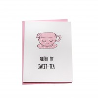 Sweet-tea (Greeting Card)