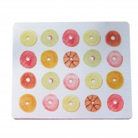 Watercolour Donut Mouse Pad
