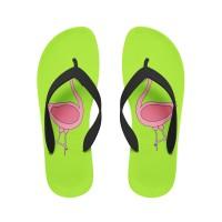 Fabulous Flamingo Flip Flops