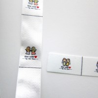 "Labels (Satin) (1"" x 1"")"