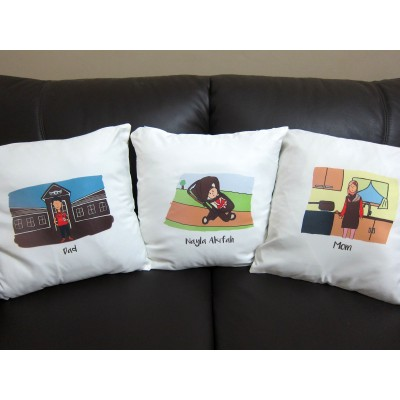 Customized Illustration (Pillow)