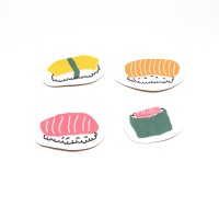 Sushi Stickers (Pack of 8)